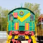 Rail road locomotive — Stock Photo #77008307