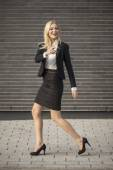 Professional woman in business attire — Stock Photo