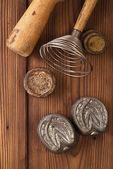 Retro kitchen  tools — Stock Photo