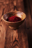 Saffron spice — Stock Photo