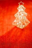 Glitter christmas tree — Stock Photo