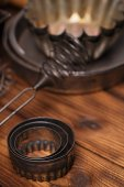 Vintage Baking Tins — Stock Photo