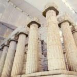 Columns ancient Greek temple of Artemis — Stock Photo #60806293