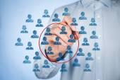 Marketing segmentation concept — Stock Photo