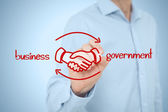 Business to government concept — Foto de Stock