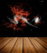 Space galaxy nature background. Elements of this image furnished — Stockfoto