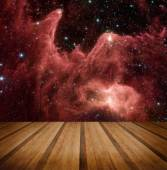 Space galaxy nature background. Elements of this image furnished — Stock Photo