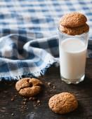 Овсяное печенье — Stock Photo