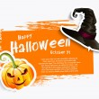 Halloween background — Stock Vector #54282043