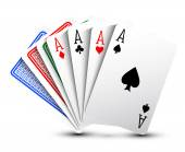 Poker cards — Stock Vector