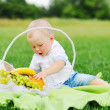 Little boy with fruits — Stock Photo #51870271