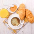 Breakfast with coffee — Stock Photo #52799883