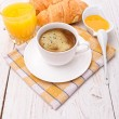 Breakfast with coffee — Stock Photo #52800147