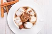 Hot cocoa. — Stock Photo