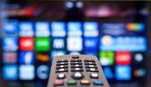 Akıllı tv — Stok fotoğraf