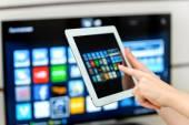 Smart tv — Stock Photo