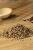 Spice cumin on a wooden table 2. — Stock Photo