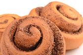 Fresh Sweet Homemade Cinnamon Rolls — Stockfoto