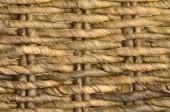 Close up ratan basket background — Stock Photo
