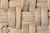 Close up rattan basket background — Stock Photo