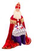 Sinterklaas na białym tle — Zdjęcie stockowe