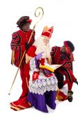 Sinterklaas i zwarte pieten — Zdjęcie stockowe
