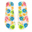 Flip-flops with flowers — Stock Photo #58495213