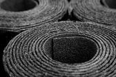 Rolls of roofing felt — Stock Photo