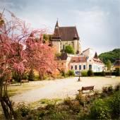 Biertan Village in transylvania Romania — Stock Photo