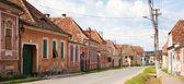 Village in transylvania Romania — Stock Photo