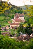 Cpsa Mare Village in transylvania Romania — Stock Photo