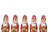Sinterklaas . Dutch chocolate figure — Stock Photo