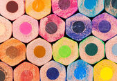 Colorful background with pencils — Stock Photo