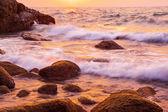 Beautiful Sea sunset background — Stock Photo