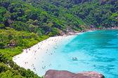 Top view of Similan island. Thailand — Stock Photo
