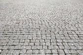 Vintage steen straat weg stoep textuur — Stockfoto