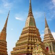 Wat Pho is a Buddhist temple in Bangkok — Stock Photo #54268125