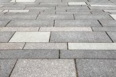 Vintage stone street road pavement texture — Stock Photo