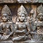 Постер, плакат: Apsara carved on the wall of Angkor Wat Cambodia