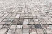 Vintage stone street road pavement texture  — Stock Photo