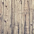 Texture of old wooden lining boards wall — Stock Photo #67761339