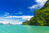 tropical landscape in the Pang Nga bay, Thailand — Stock Photo