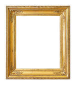 Vintage gold color picture frame  — Stock Photo