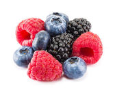 Fresh ripe berry on a white — Stock Photo