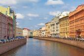 View of the Moyka river, St. Petersburg — Stock Photo