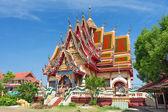 Temple of Wat Plai Laem on the Samui island — Stock Photo