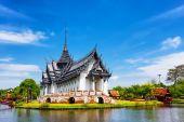 Sanphet Prasat Palace, Ancient City, Bangkok, Thailand — Stock Photo