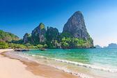 Railay beach in Krabi Thailand. Asia — Stock Photo