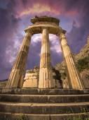 Tholos at Delphi, Greece — Stock Photo