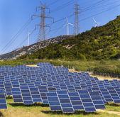 Renewable green energy — Stock Photo